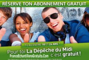 Abonnement GRATUIT à La Dépêche du Midi