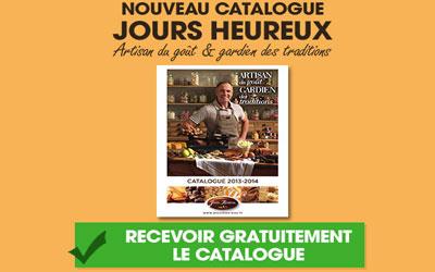 Catalogue gourmand Jours Heureux Gratuit