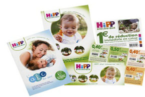 Gratuit : brochure produits Hipp et 10 euros de BDR