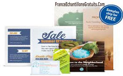 Kit Dechantillons Gratuits Vistaprint