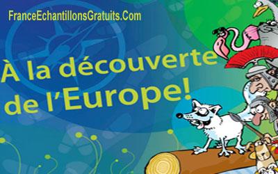 Livre gratuit À la découverte de l'Europe !
