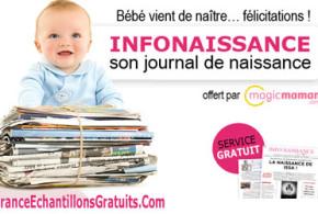 Journal de naissance Info naissance gratuit