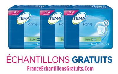 Échantillons Gratuits de produits Tena À Recevoir