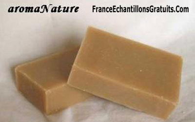 Échantillons gratuits de savons AromaNature