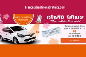 Concours voiture à gagner - Françoise Saget