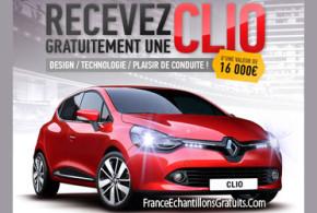 Jeu Concours Renault Clio 4 à gagner