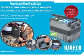 Jeu Concours Trois glacières Waeco CFX 40