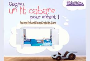 Jeu Concours Un lit cabane pour enfant Saam