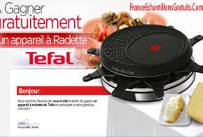 Jeu concours Appareil à raclette Tefal
