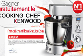 Jeu concours Robot cuiseur cooking chef Kenwood