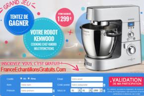 Jeu concours Robot kenwood de 1299 euros