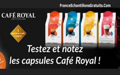Test Capsules Cafe Royal Dolce
