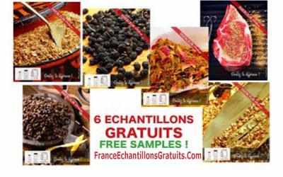 Échantillons Gratuits d'Épices Thiercelin