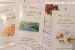 Échantillons gratuits de Produits Cosmétiques krauterhaus