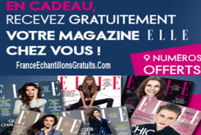 9 numéros du magazine Elle Gratuitement