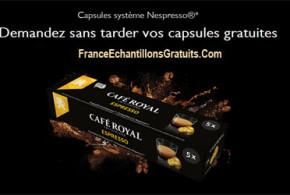 Capsules de café Espresso gratuites