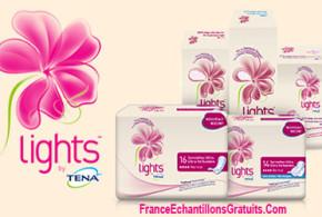Échantillons gratuits Tena Lights