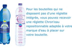 Échantillon gratuit Réglette Chron'eau