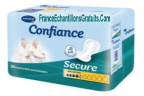 Echantillon gratuit, Serviettes et protège-slips Confiance