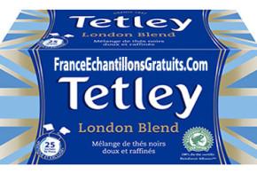 Echantillon gratuit, Thé Tetley