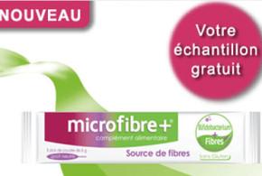 Echantillon gratuit, complément alimentaire Microfibre+