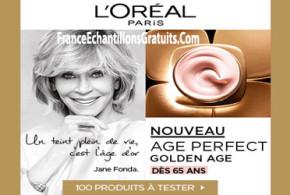 Test de produit, Age Perfect Golden Age de de L'Oréal