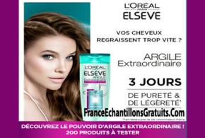 Test de produit, Elsève Argile Extraordinaire de L'Oréal