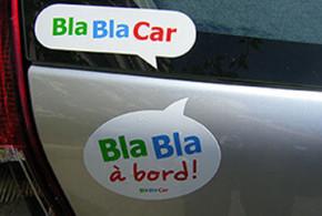 Demandez gratuitement vos stickers BlaBlaCar