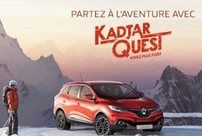 Voiture Renault Kadjar de 26620 euros à gagner