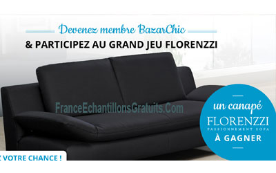 canap italienne florenzzi gagner. Black Bedroom Furniture Sets. Home Design Ideas