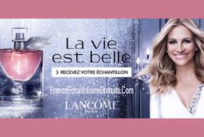 Échantillon gratuit du parfum La Vie Est Belle eau florale de Lancôme