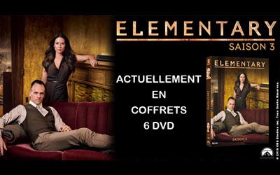 Serie Elementary dvd de la série elementary saison 3 échantillons gratuits