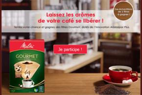 Echantillon gratuit, Filtre à café Melitta