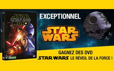 """DVD du film """"Star Wars : Le réveil de la force"""""""