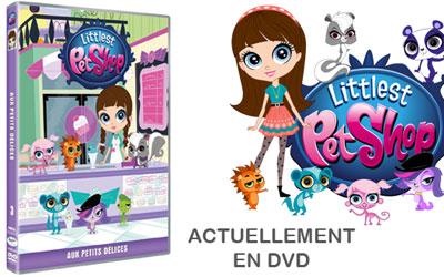 Dvd du dessin anim littlest pet shop aux petits d lices - Dessin anime littlest petshop ...
