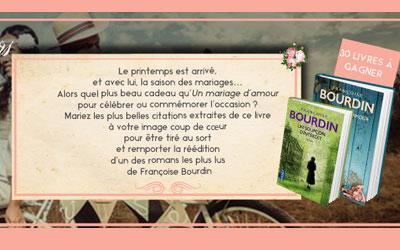 Romans de Françoise Bourdin