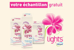 Échantillon gratuit Lights by TENA