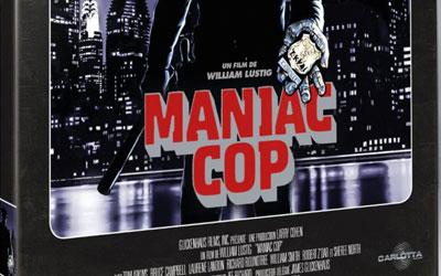 Blu-ray du film Maniac Cop