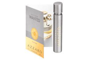 Échantillons gratuits du parfum Azzaro Wanted