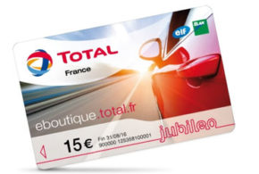 15€ de carburant offert par Total