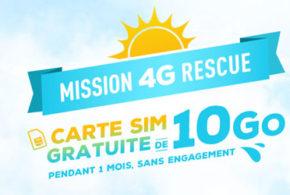 Carte SIM de 10Go gratuite