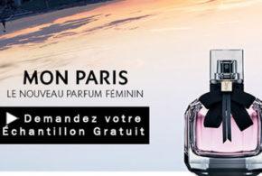 Échantillon gratuit du parfum Mon Paris Yves Saint Laurent