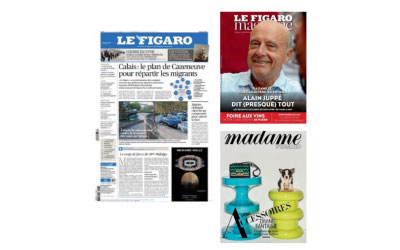 Madame Figaro et Figaro Magazine gratuits pendant 1 an