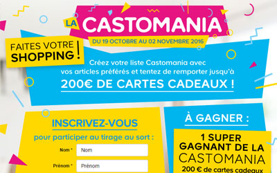 Concours gagnez 200 euros de cartes cadeau Castorama