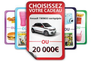 Concours gagnez 5 voitures Renault Twingo INTENS