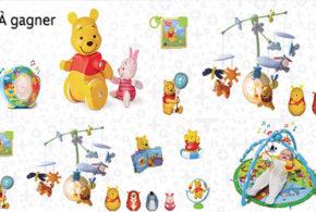 Concours gagnez des jouets Winnie l'Ourson