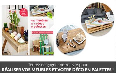 Concours Gagnez Des Livres Mes Meubles Et Ma Deco En Palettes Echantillons Gratuits France