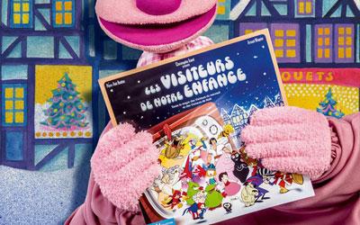 Concours gagnez des livres jeunesse Les visiteurs de notre enfance