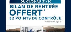 Peugeot vous offre 32 points de contrôle réalisés par un Expert