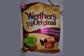 Werther's Tendre et chocolat 100% remboursé